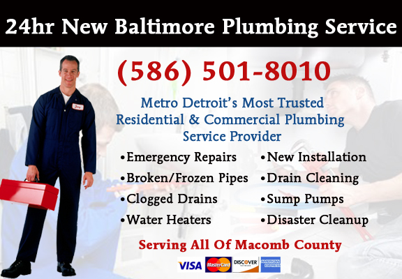 New Baltimore Plumber Service