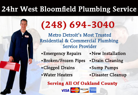 West Bloomfield Plumber Service